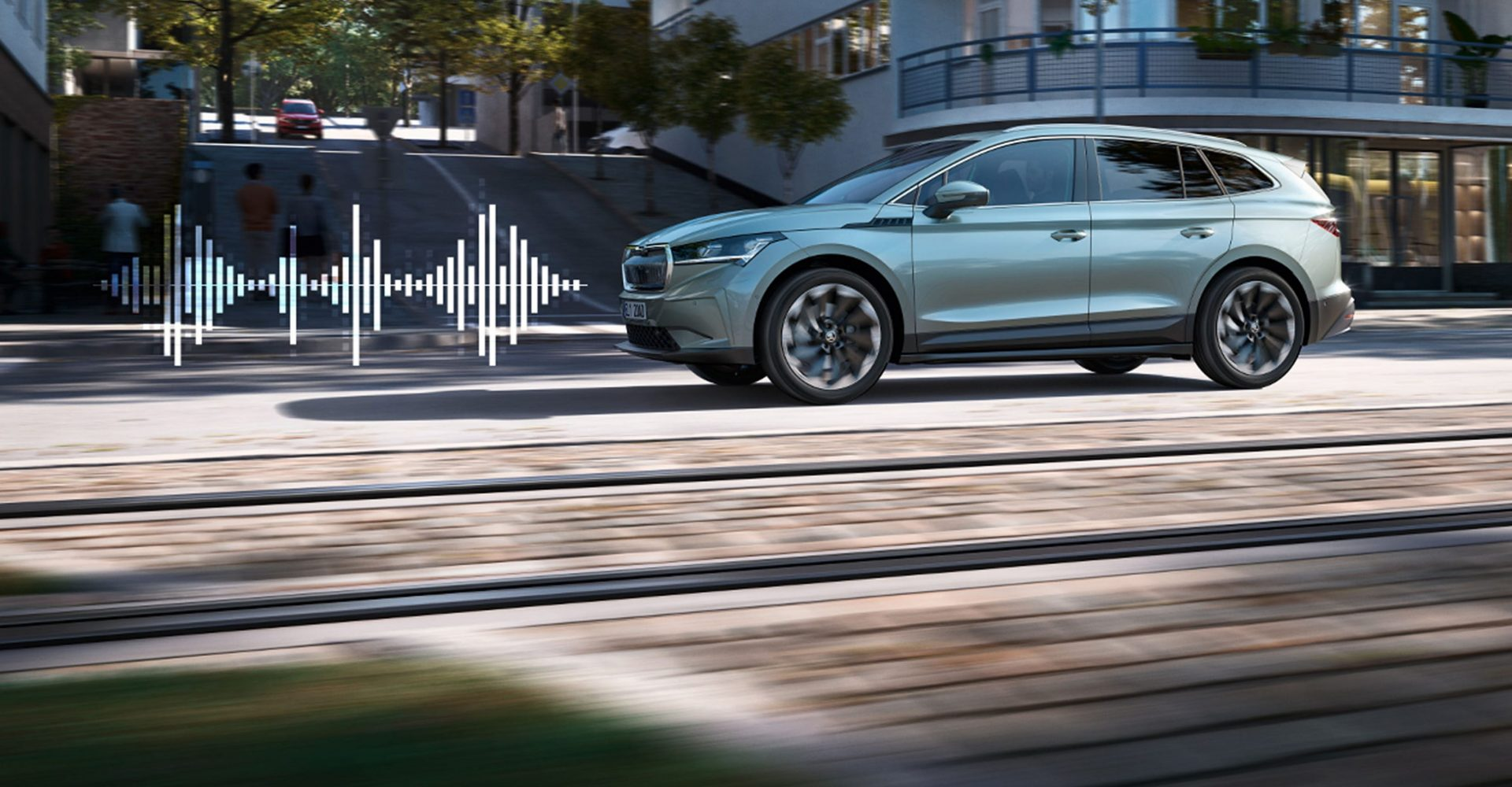 Skoda reveals 'acoustic signature' for the Enyaq electric vehicle