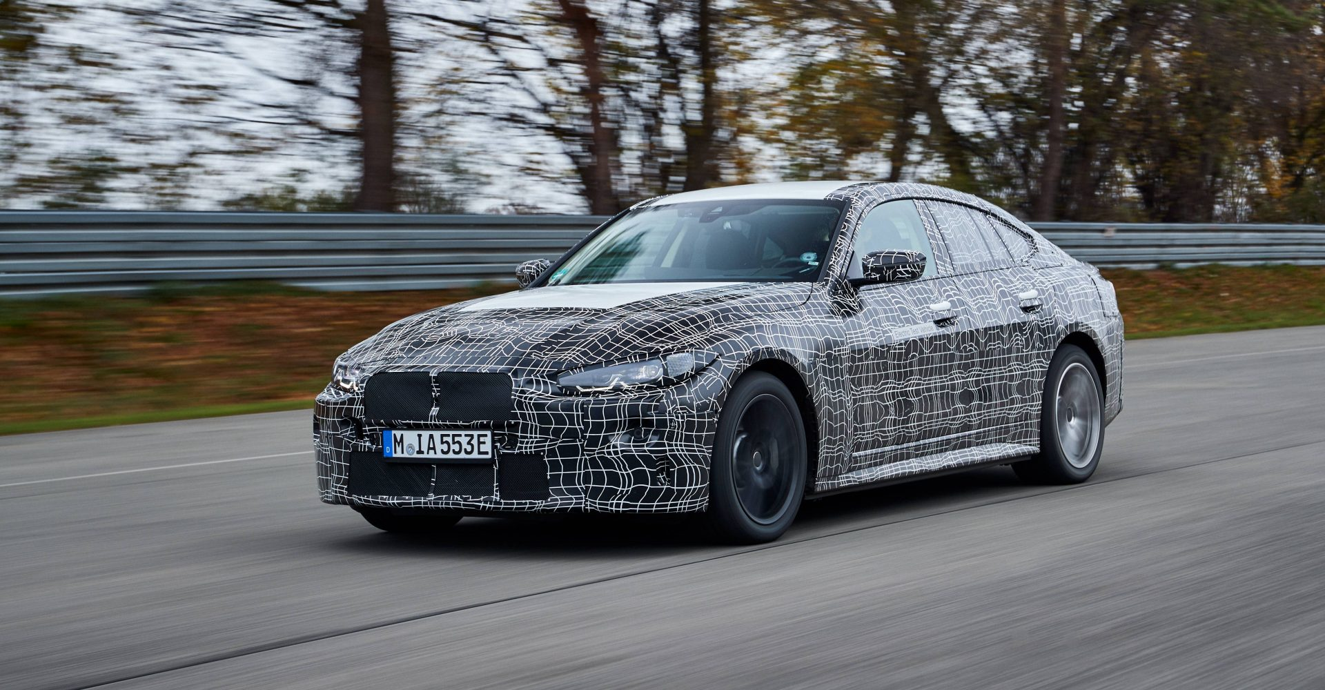 Upcoming BMW i4 showcased undergoing final dynamic testing