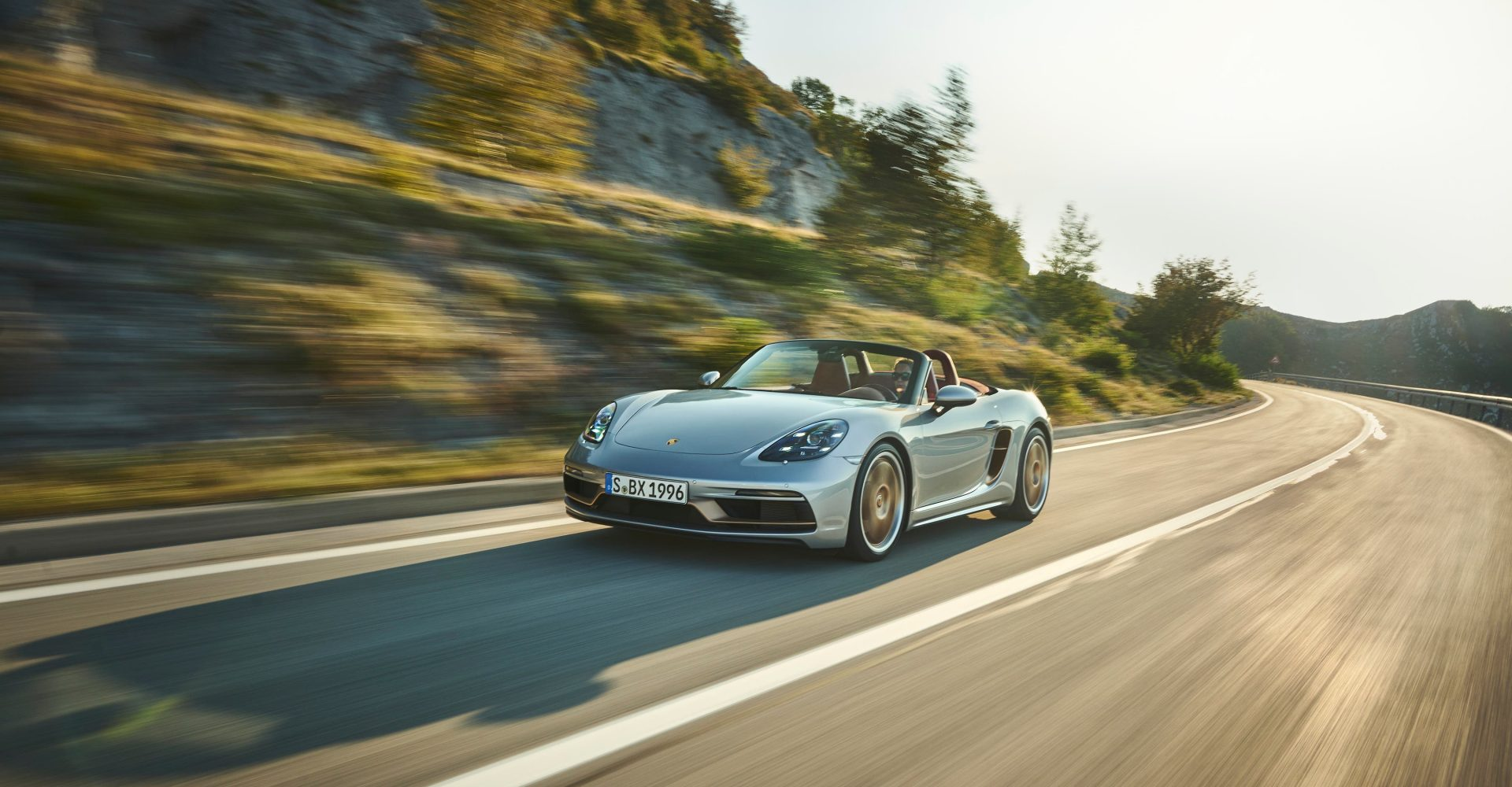 Special edition Porsche Boxster celebrates the roadster's 25th birthday