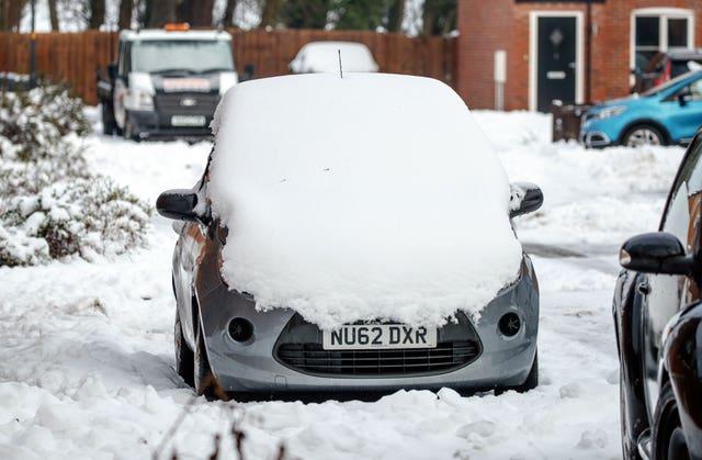 Winter weather Jan 16th 2021