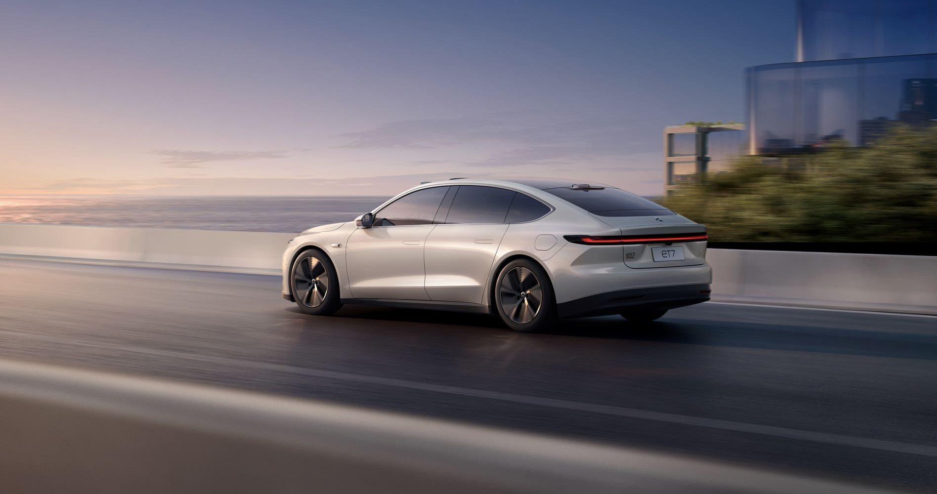 New NIO ET7 EV brings autonomous tech and 620-mile range
