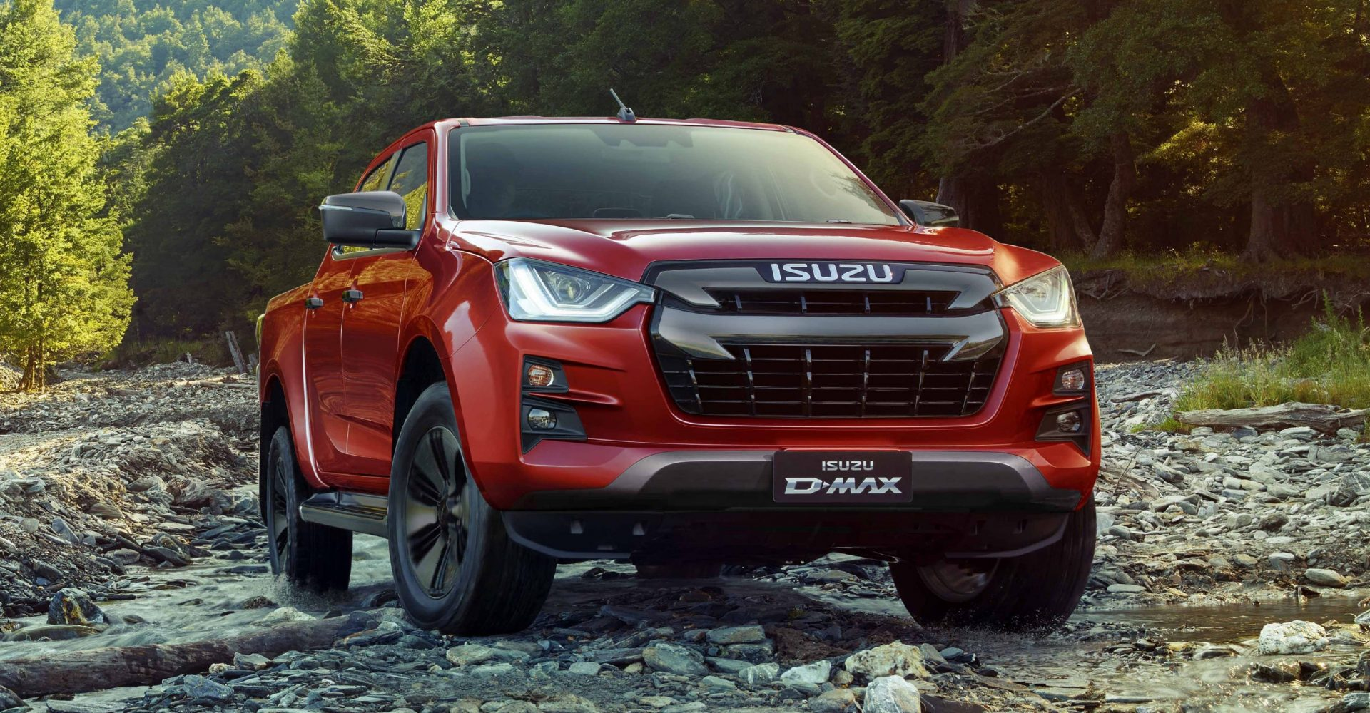 The Isuzu D-Max gets a new face and improved off-road abilities