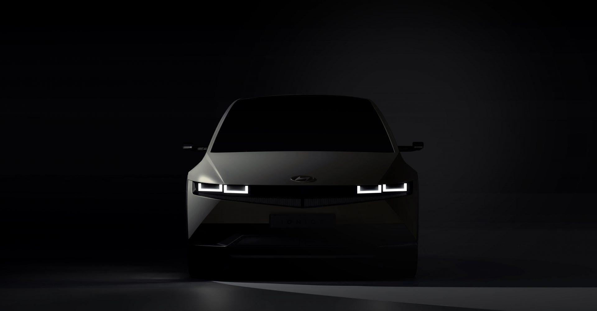 Hyundai gives first glimpse of Ioniq 5 EV