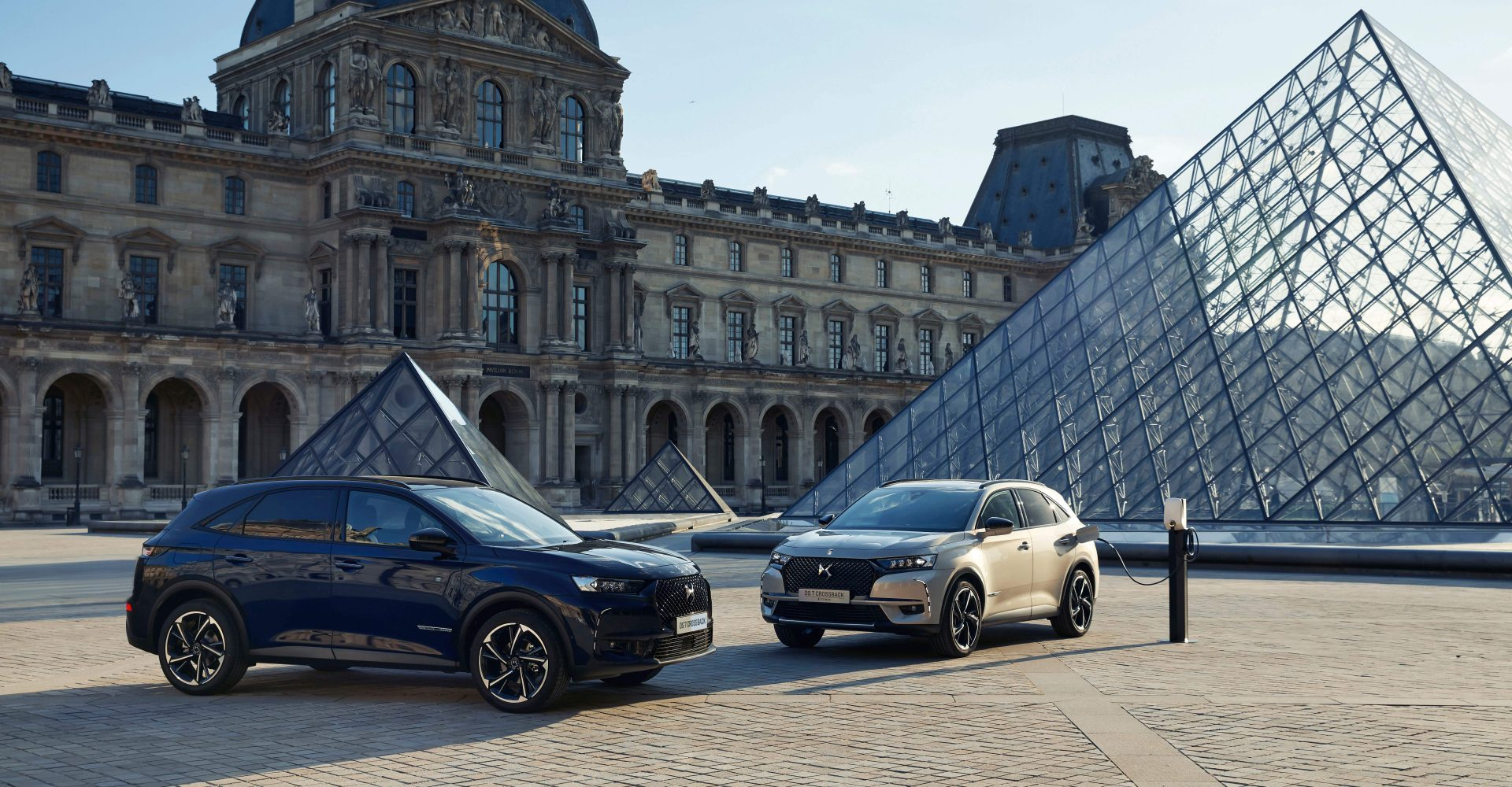 DS Automobiles takes inspiration from Paris landmark with DS 7 Crossback Louvre