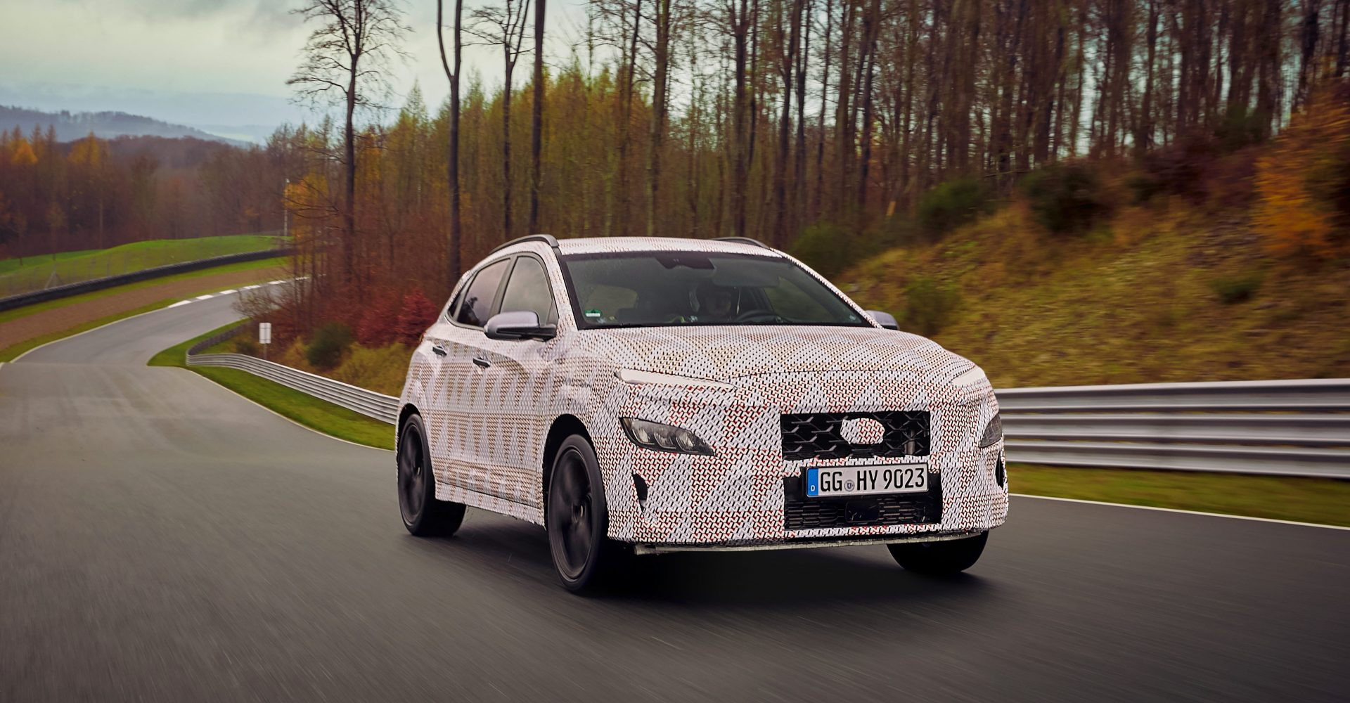 Hyundai teases Kona N performance SUV