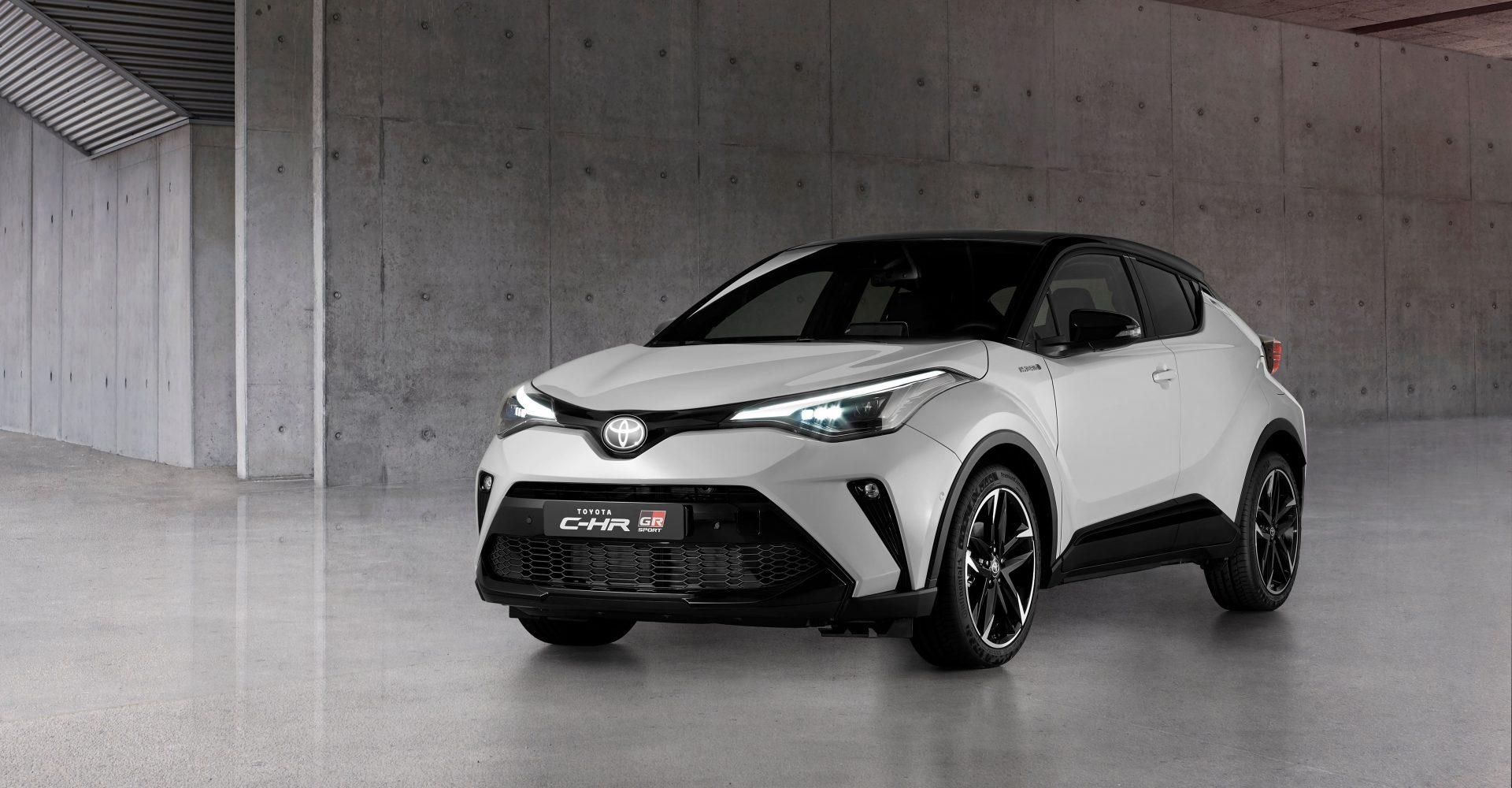 Toyota C-HR Hybrid range expands with new GR Sport model