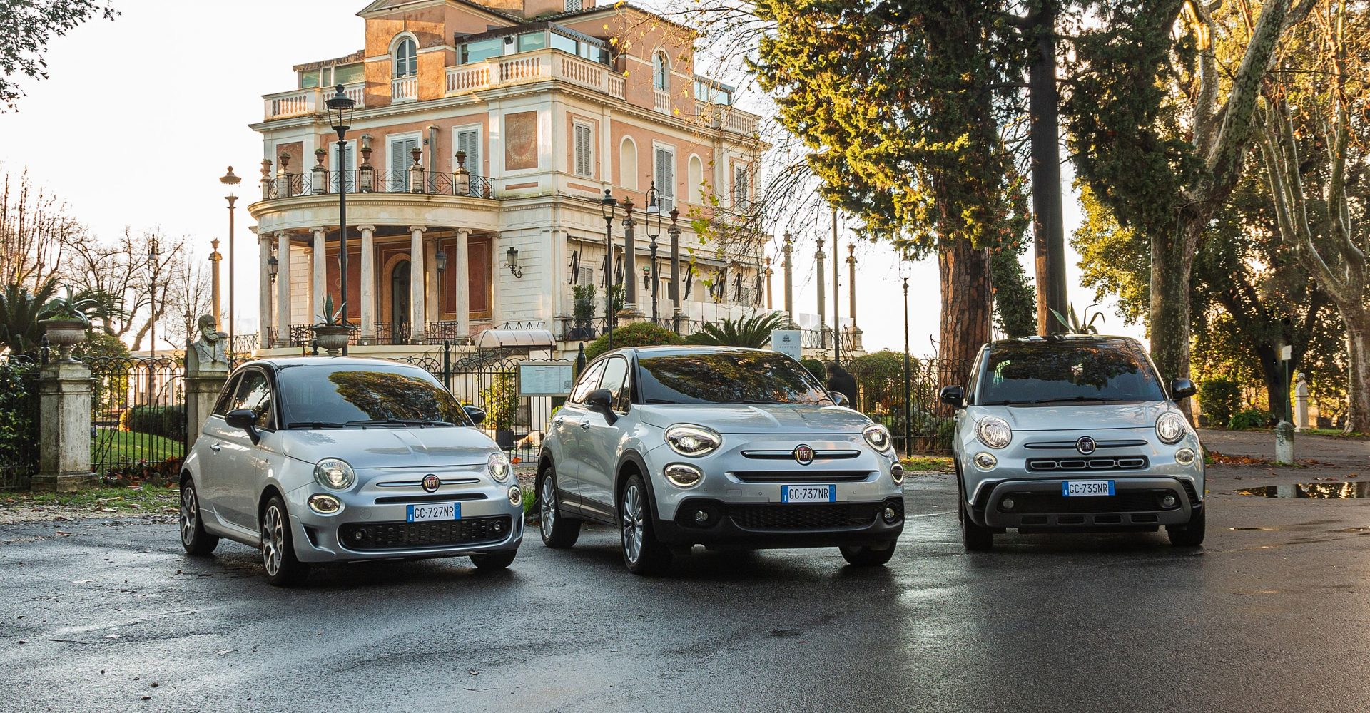 Fiat outlines updates for the 500, 500X and 500L