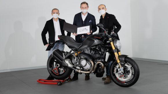Ducati Monster hits 350,000 production milestone