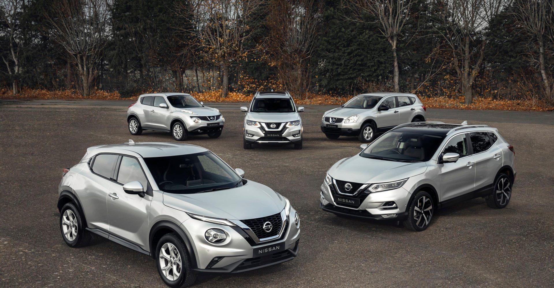 Nissan celebrates one million crossover sales