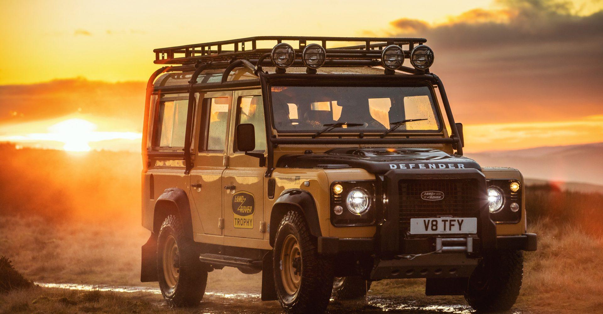 Land Rover Classic celebrates spirit of adventure with Defender Works V8 Trophy