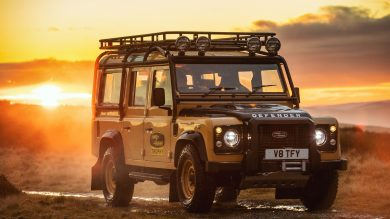 Land Rover Classic celebrates spirit of adventure with Defender Works V8 Trophy