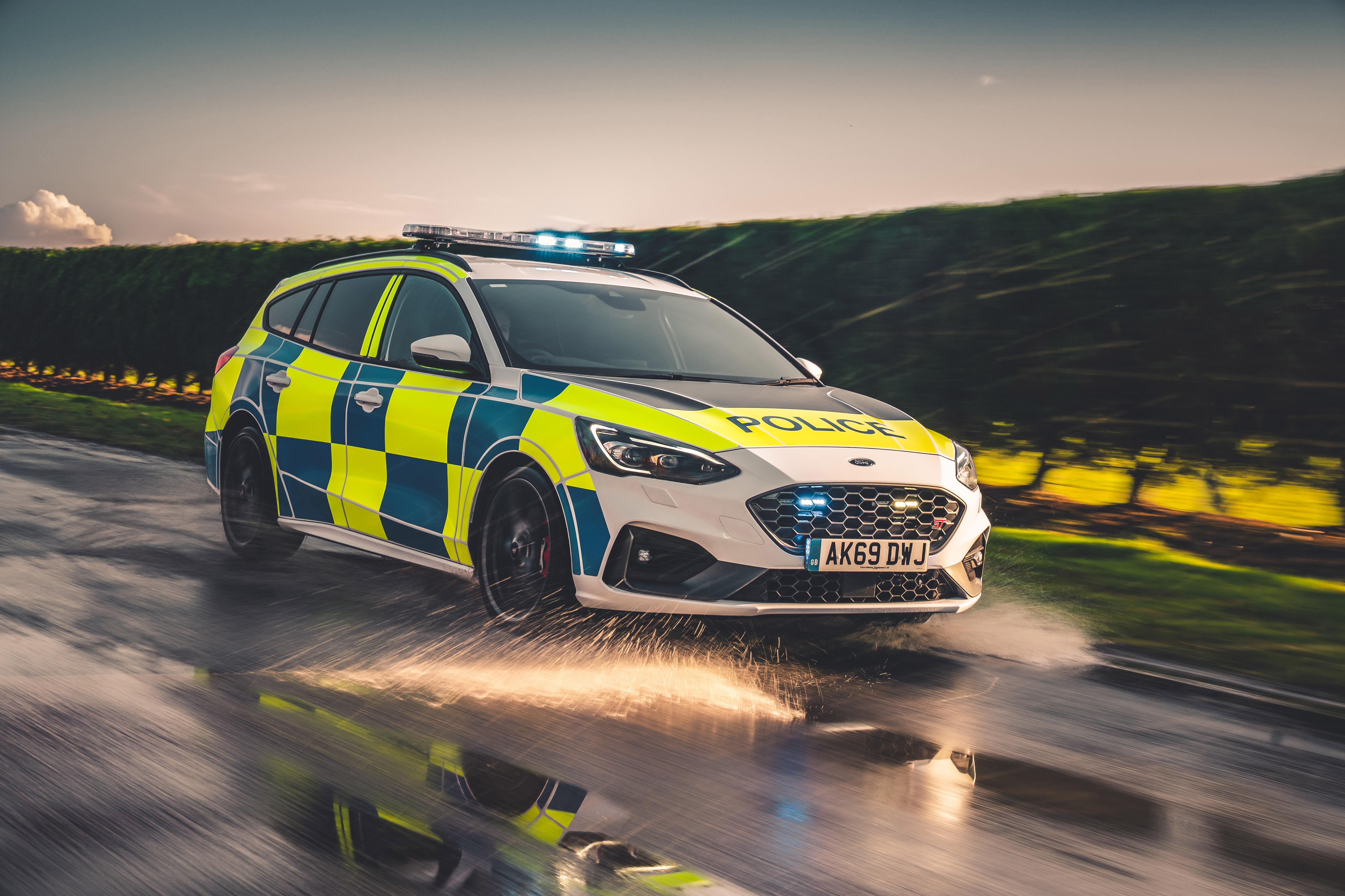 Ford Focus police car