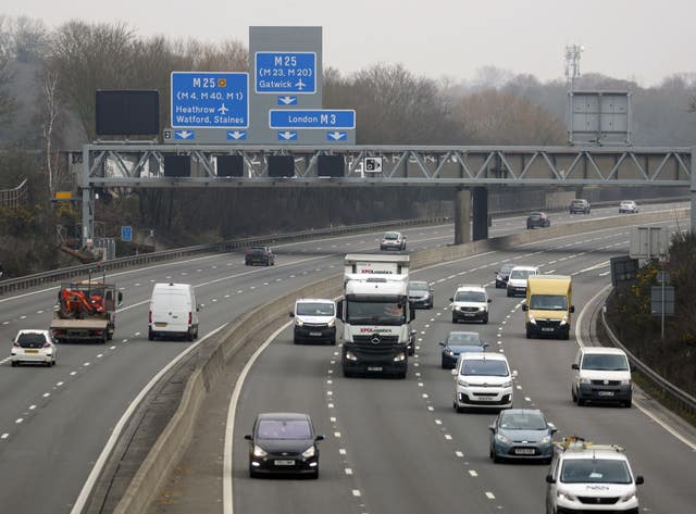 M3 smart motorway