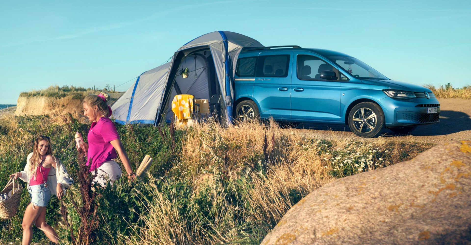The VW Caddy California will cost £29,695 when it goes on sale next month