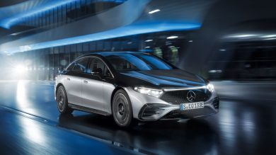 Mercedes-Benz EQS arrives as firm's new EV range-topper
