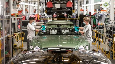 UK car manufacturing on the rise but semiconductor shortage threatening recovery