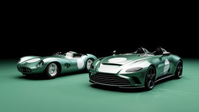 Aston Martin reveals DBR1 specification for exclusive V12 Speedster