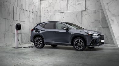 New Lexus NX in revealed with overhauled interior and plug-in power