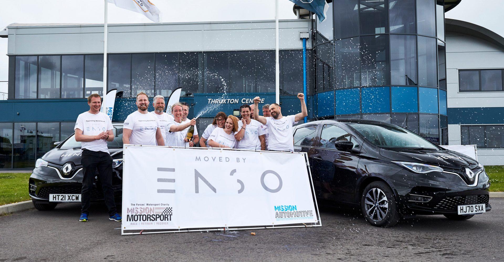 Mission Motorsport sets electric car hypermile record