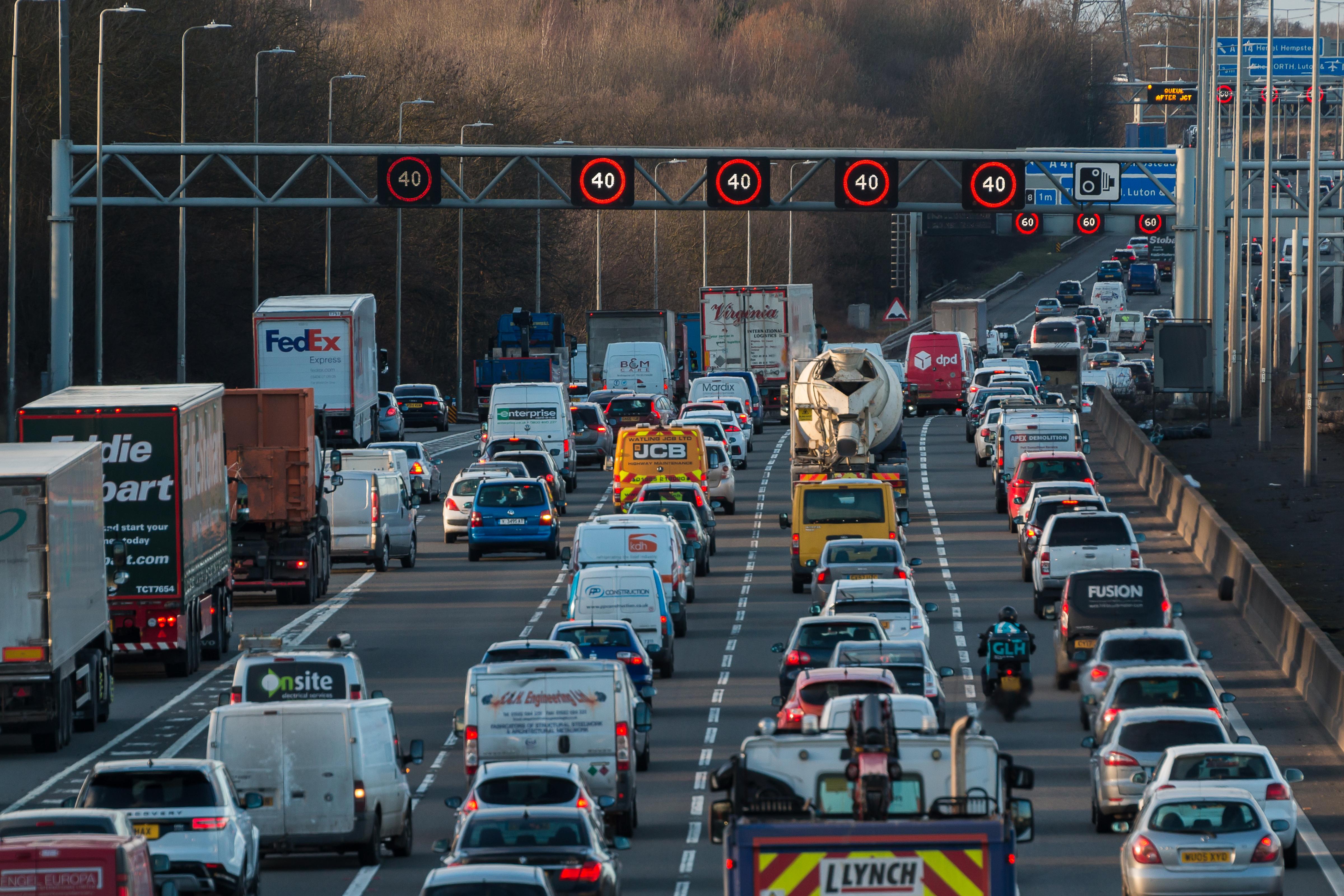 Traffic in Watford