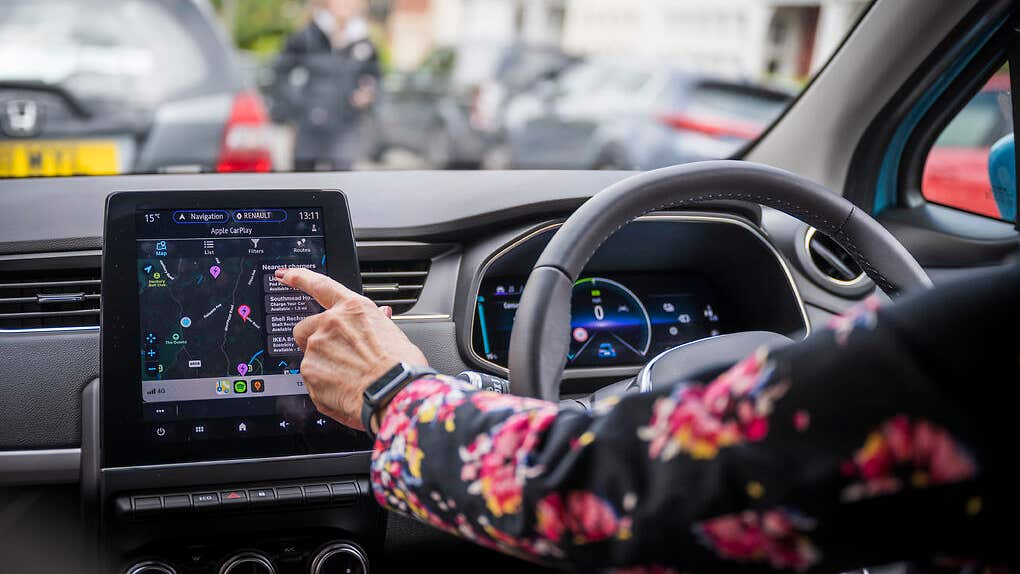 EV owners can now view Zap-Map via Apple CarPlay through new service