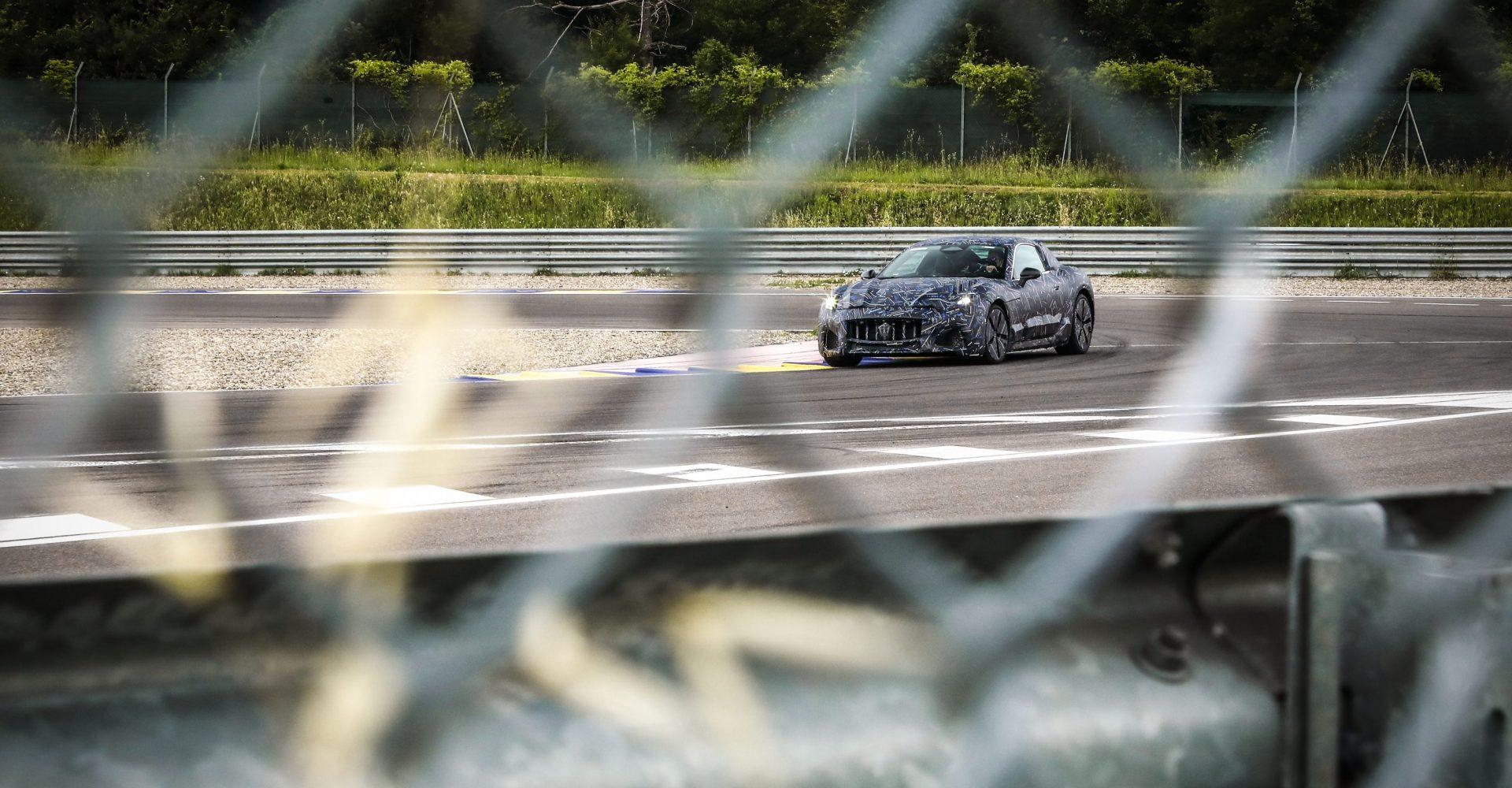 Maserati gives a first look at upcoming GranTurismo