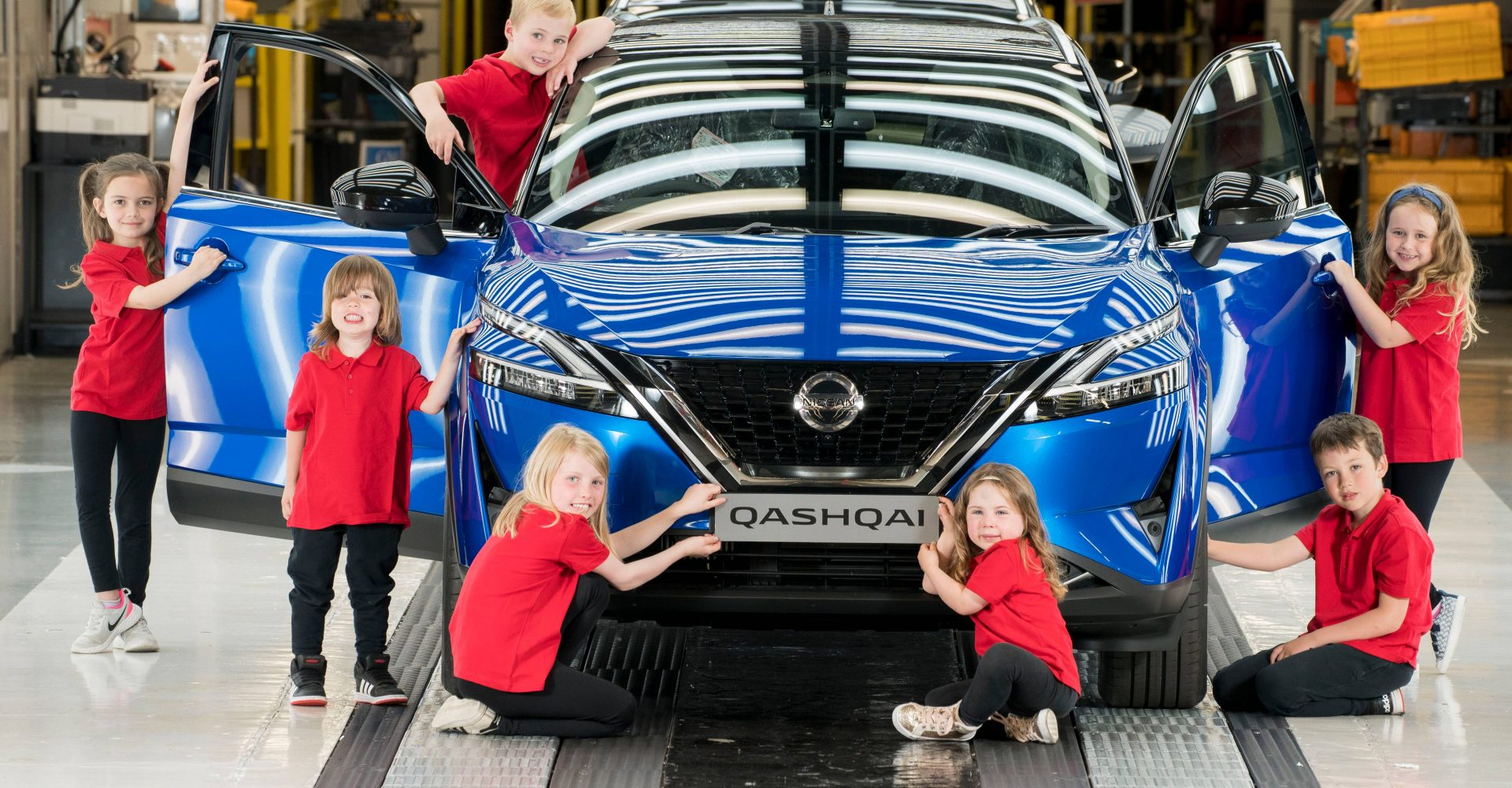 Nissan celebrates production of new Qashqai in Sunderland with skills experience for school children