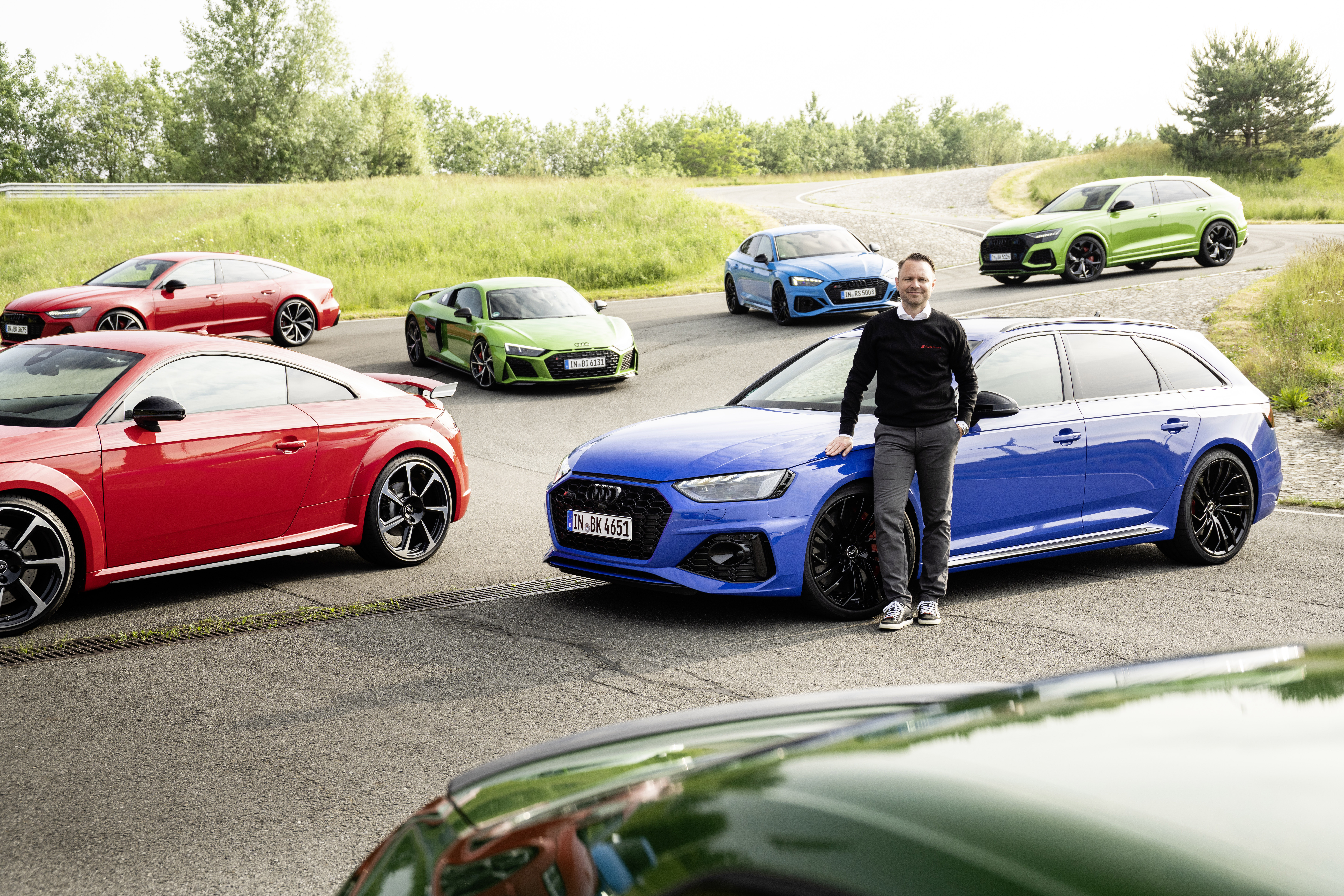 Rolf Michl, head of sales and marketing at Audi Sport