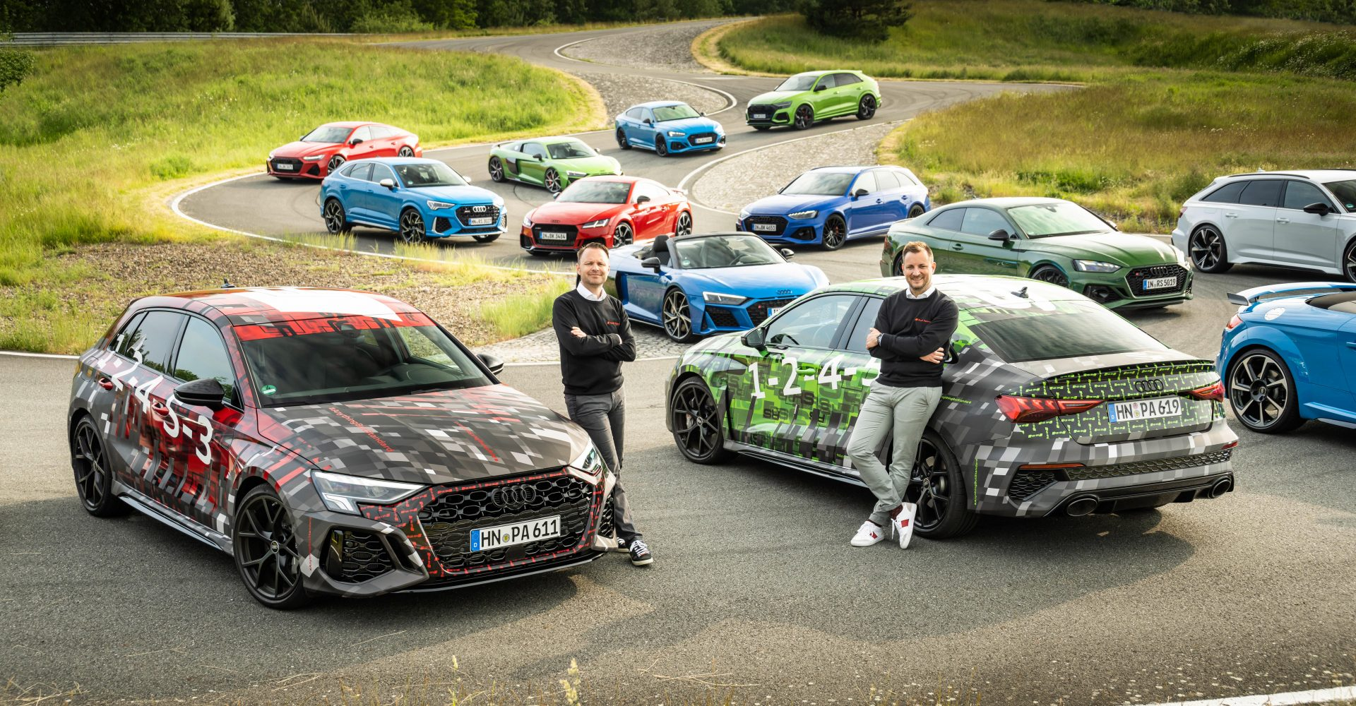 Audi's RS performance division had a record year in 2020